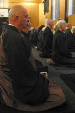 Photo de la posture zazen